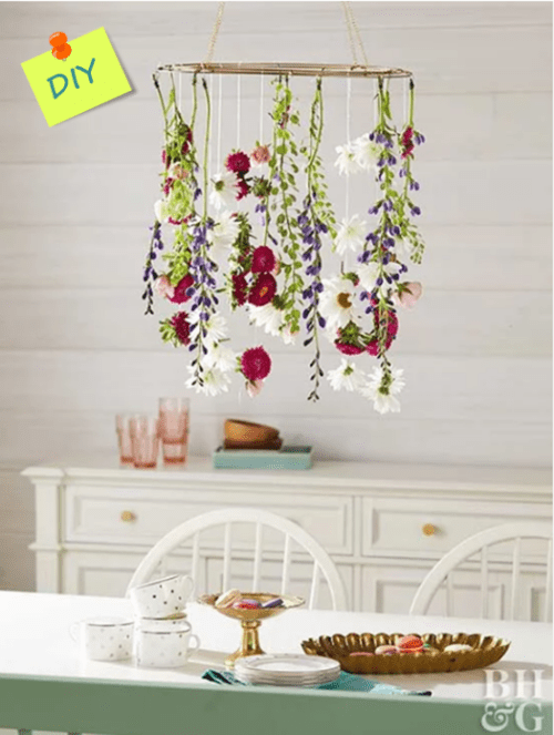 Precioso proyecto DIY: ideas de decoración para primavera.