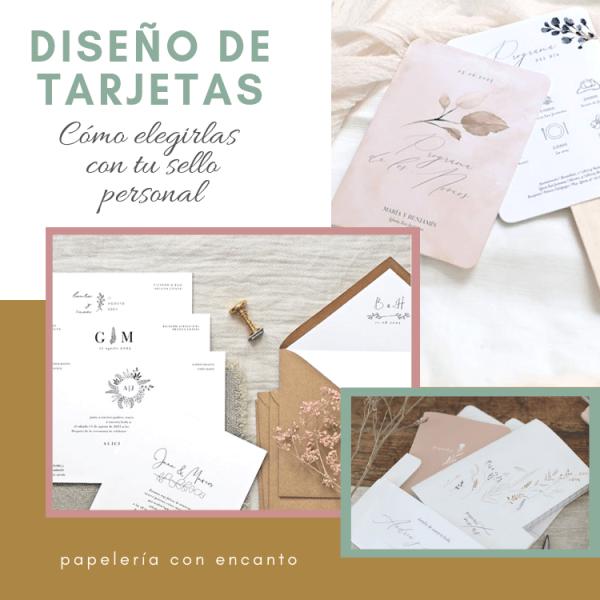 El diseño de invitación perfecto con tu sello personal.