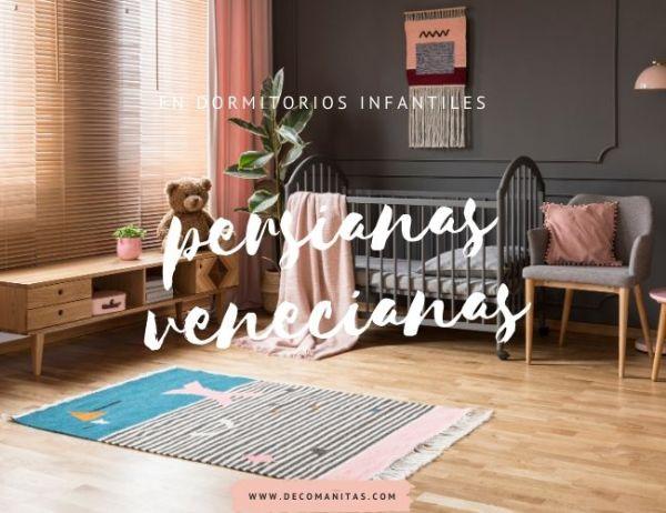 Uso de persianas venecianas en espacios.