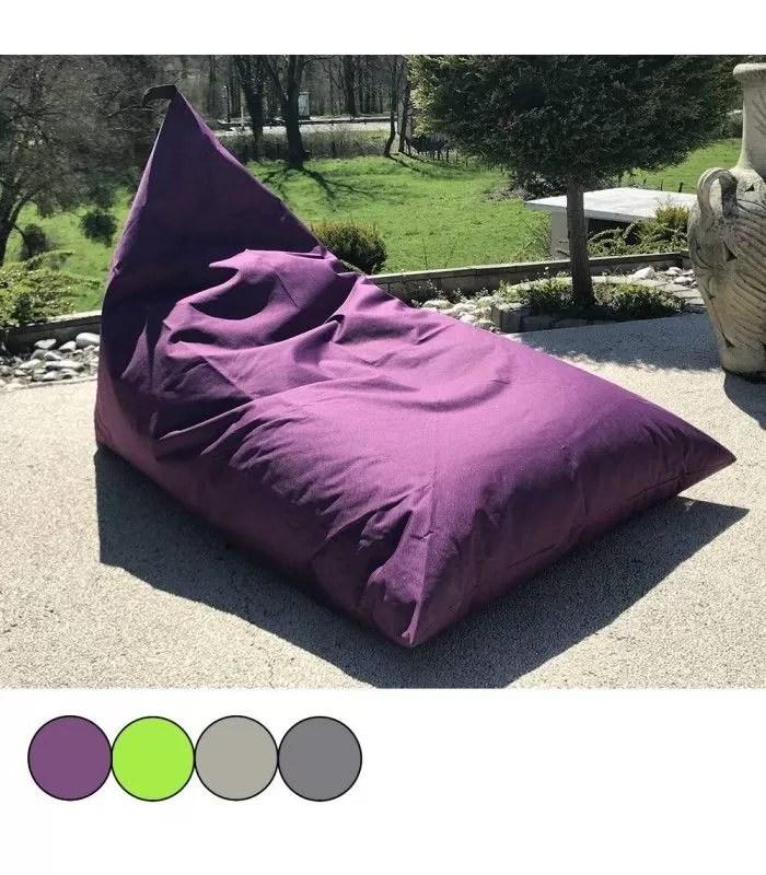 pouf transat berlingot exterieur 4 coloris toon