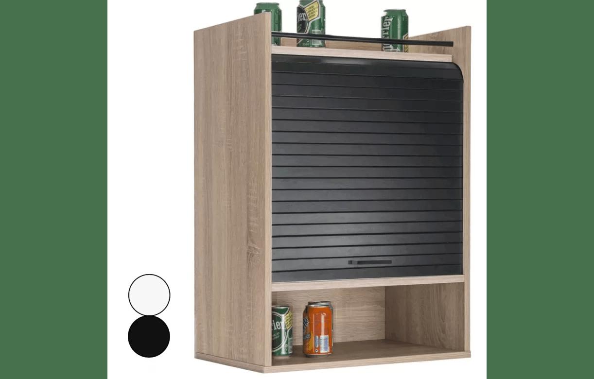 meuble de cuisine bois clair avec