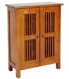 petit meuble en bois teck massif 2
