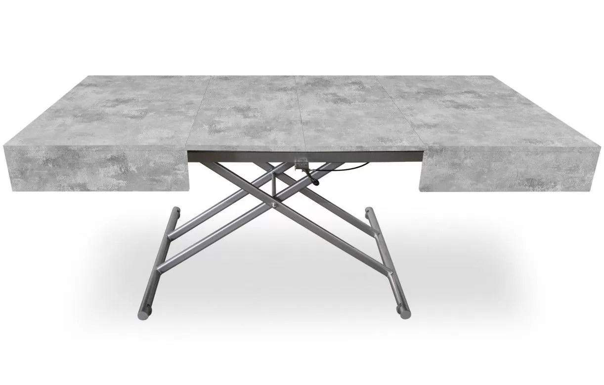 table basse relevable extensible 190cm
