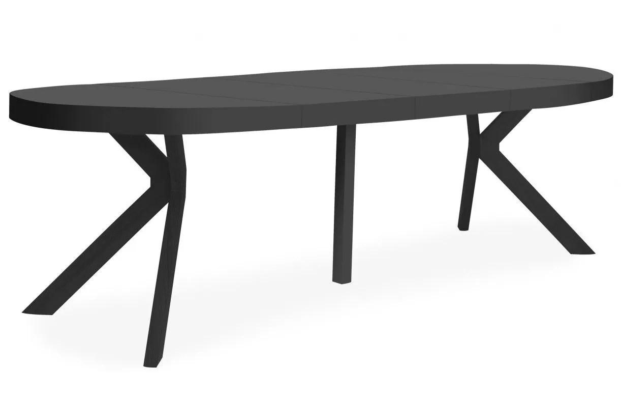 table ronde a rallonges en bois