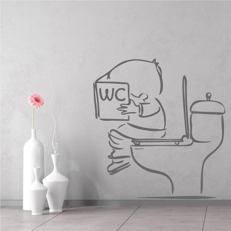 Stickers Muraux Toilettes Dcorez Vos WC Avec Humour