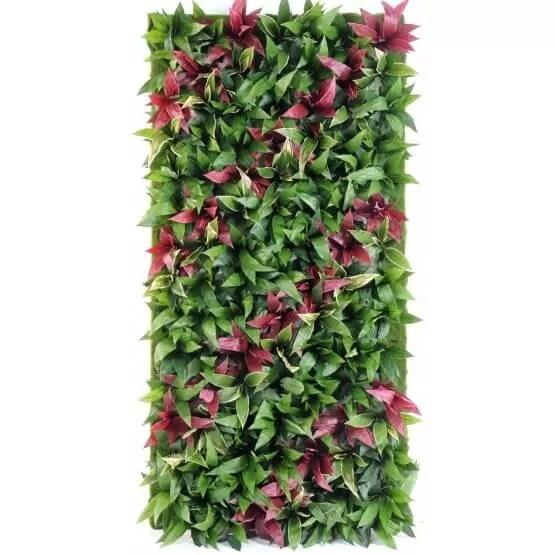 mur vegetal artificiel hauteur 230 cm largueur 130 cm
