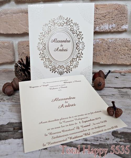 Invitatie de nunta cod 5535 din Catalogul Concept