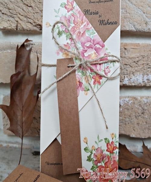 Invitatie de nunta cod 5569 din Catalogul Concept