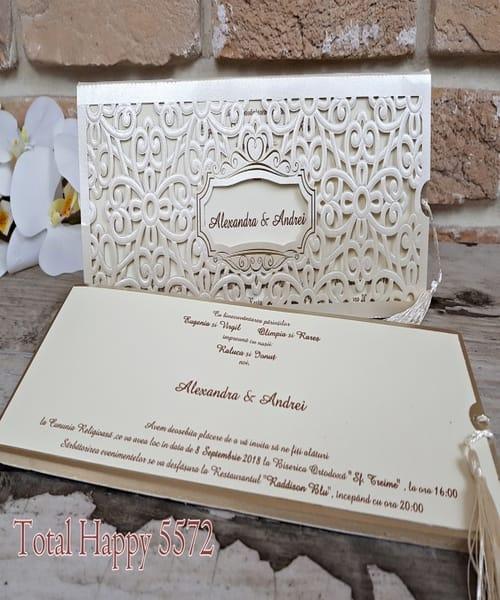 Invitatie de nunta cod 5572 din Catalogul Concept
