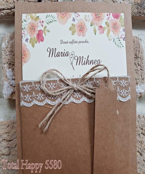 Invitatie de nunta cod 5580 din Catalogul Concept