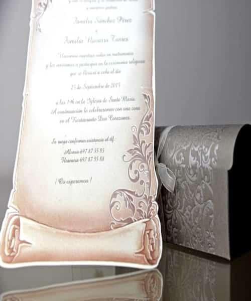 Invitatie de nunta cod 34909 din Catalogul Emma