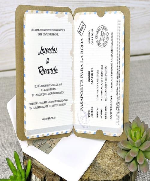 Invitatie de nunta cod 39315 din Catalogul Emma
