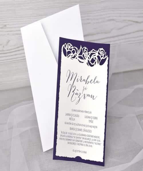 Invitatie de nunta cod 39348 din Catalogul Emma