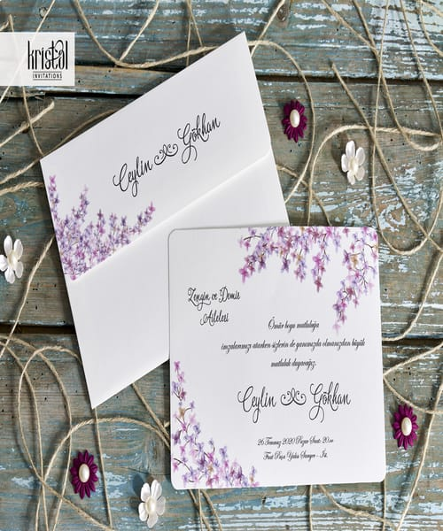 Invitatie de nunta cod 70217 din Catalogul Kristal Boutique