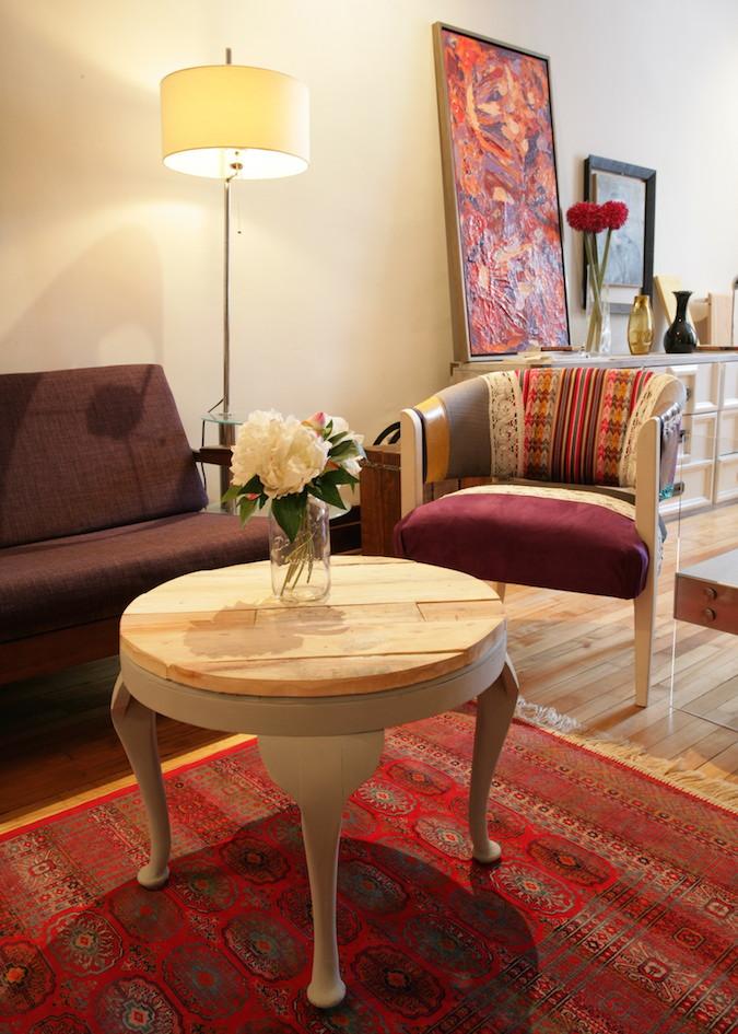 table basse en bois de palette