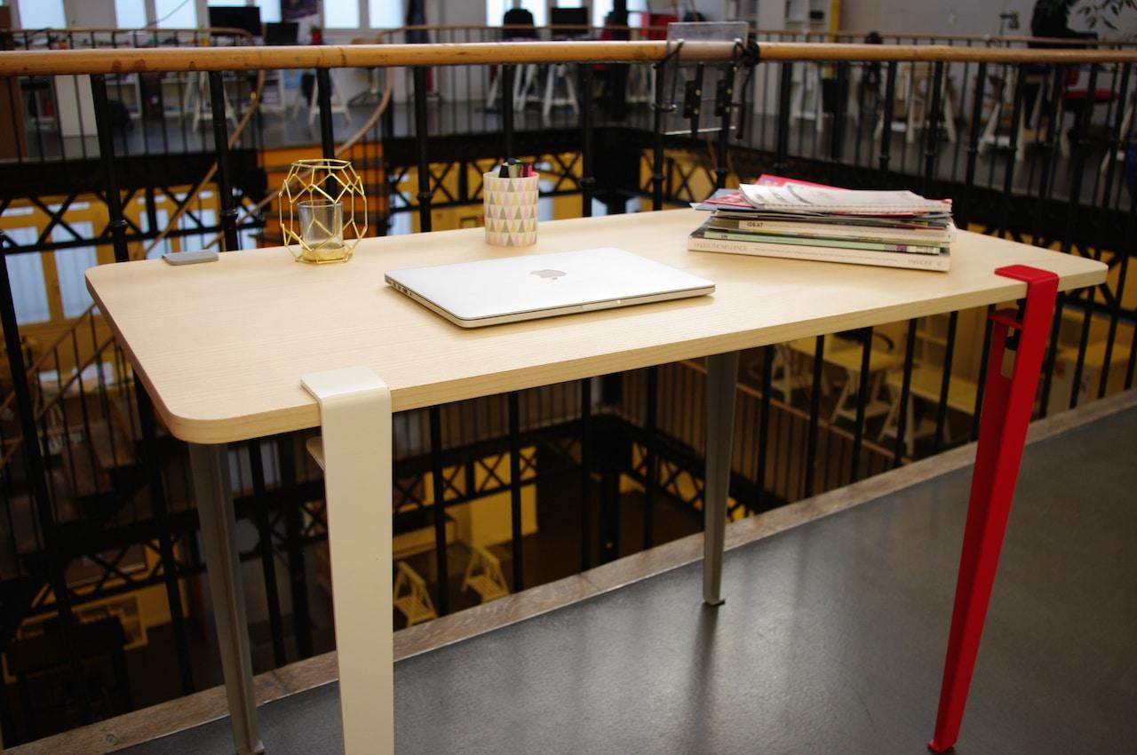 Table de travail table professionnelle avec plan de travail lg