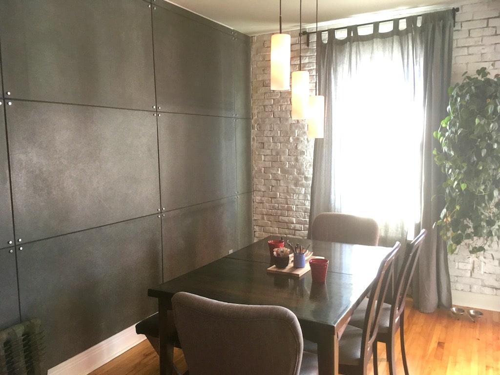 mur en panneaux de beton a petit prix