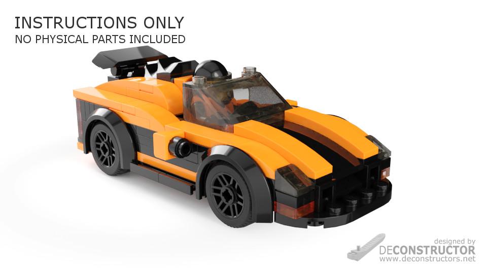 Scorpio 2k2 Sports Car Building Instructions Deconstructors