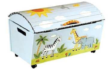Habitaciones infantiles: baúles decorativos