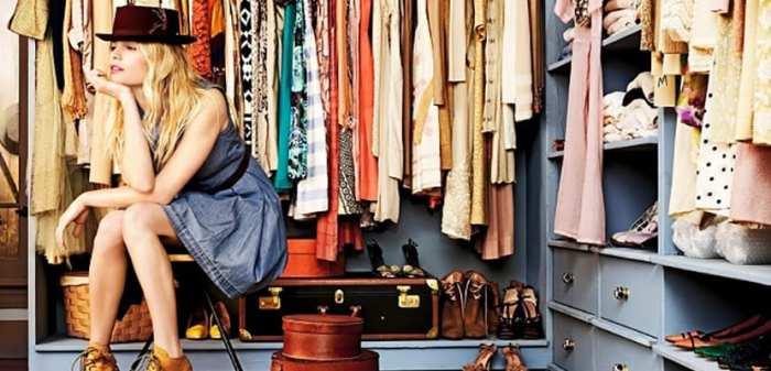 Cómo sacarle partido a los vestidores para la ropa