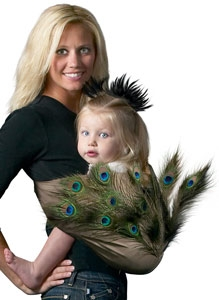 halloween pouch 1 Ideas para convertir tu portabebé en un disfraz