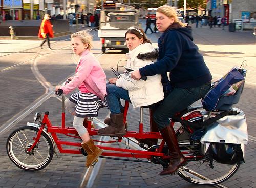 bici3 Mamás del mundo Estilo de vida holandés