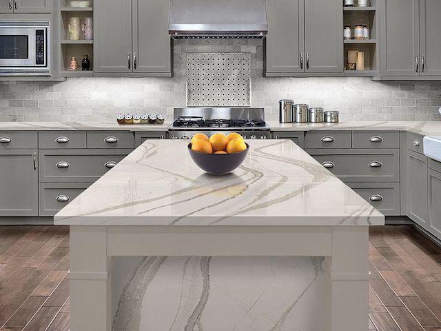 kitchen countertops marble look Kitchen Design