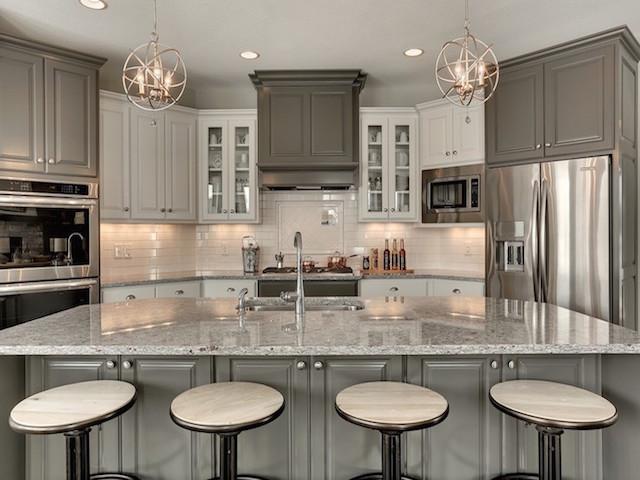 Moon White Granite Kitchen Countertop Design Ideas on Countertop Decor  id=85035