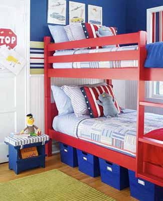 Patriotic Decoration Kids Rooms Decor Flags Color Schemes