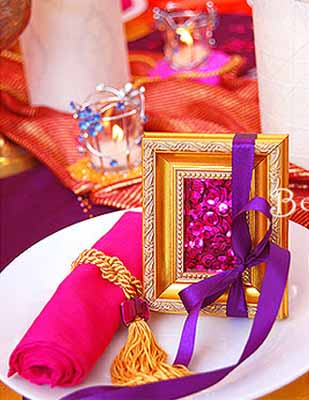 Arabian Nights Themed Party Table Decorating Ideas