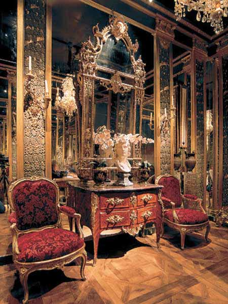 Modern Rococo Bathroom Inspiration A Bit Too Gold But