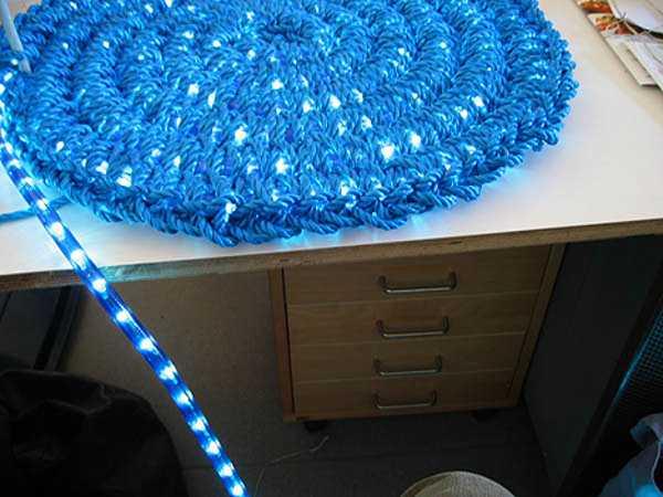 DIY NIght Light Idea Inspired By Original Light Carpet From Imu