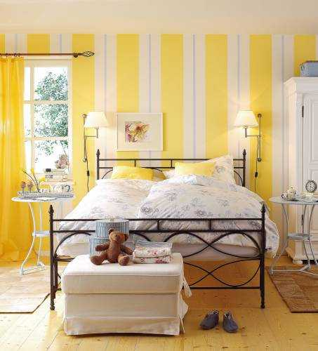 Grey Yellow Bedroom Decorating With And Ideas