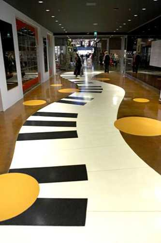 Black And White Decorating Ideas Highlighting Music Themes