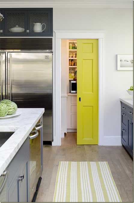 Interior design is a multifaceted profession that includes conceptual development, space planning, site. Yellow Color Accents Jazz Up Elegant Dark Gray Kitchen Decorating