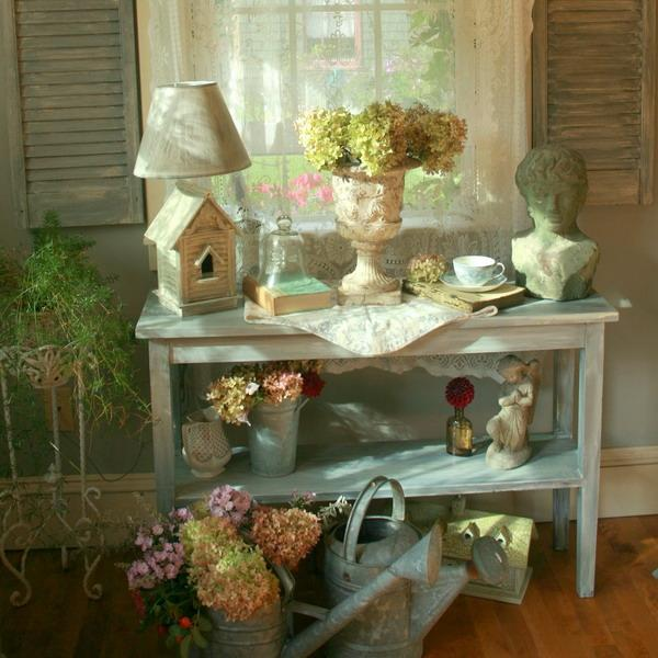 Shabby Chic Decorating Ideas Inspired by beautiful flowers ... on Chic Patio Ideas id=21489