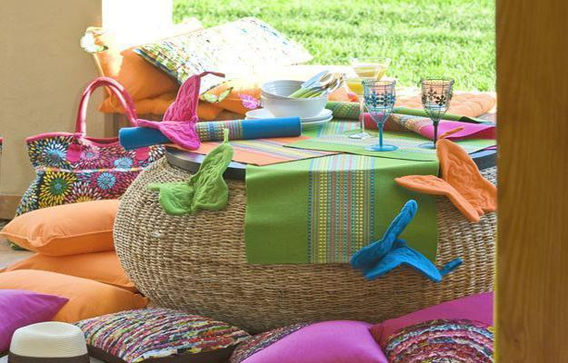 Colorful Home Decor Accessories Bright And Color Combinations For Summer