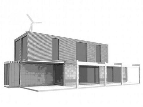 Casas hechas con containers - Construir una casa economica ...