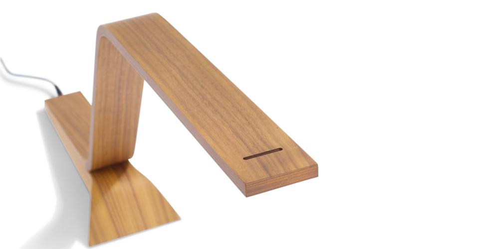 L mparas led de madera reciclada - Lamparas de madera para techo ...
