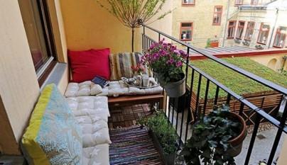 Ideas para decorar el balc n - Tapar barandilla balcon ...