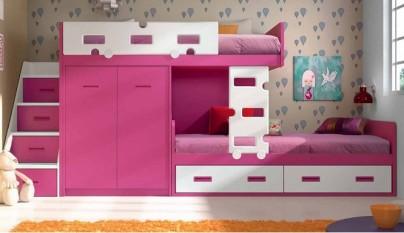 Literas para habitaciones infantiles - Escaleras para literas infantiles ...
