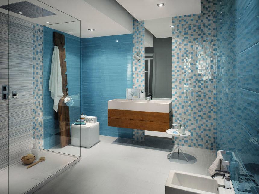 Azulejos Baño Colores:Azulejos de colores para el cuarto de baño