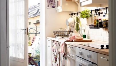 Fotos de cocinas vintage for Cocinas diminutas