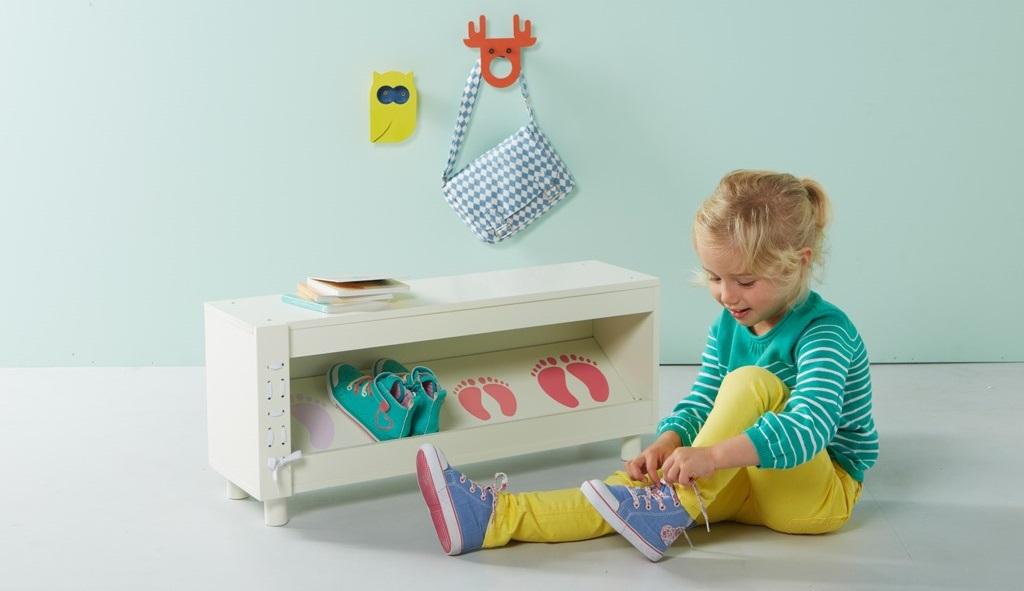 Soluciones de almacenaje para ni os de vertbaudet - Muebles de almacenaje para ninos ...