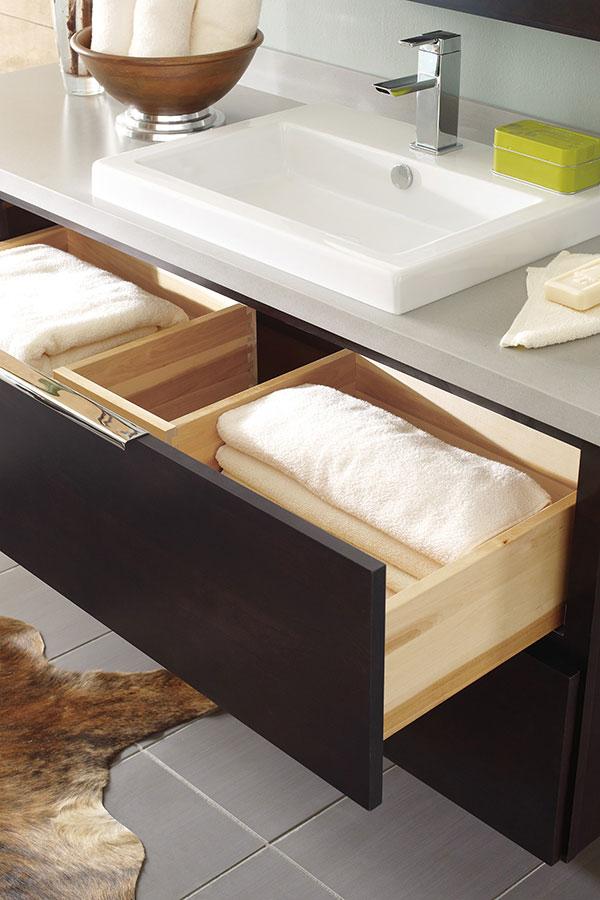 Vanity U Shaped Drawer - Decora Cabinetry on {keyword}