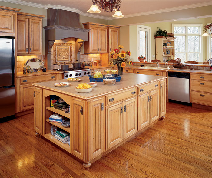 Natural Maple Kitchen Cabinets Photos | online information on Natural Maple Cabinets  id=36296