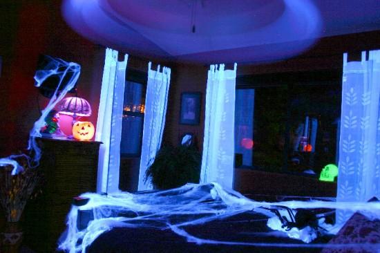 Decoração para a festa de Halloween