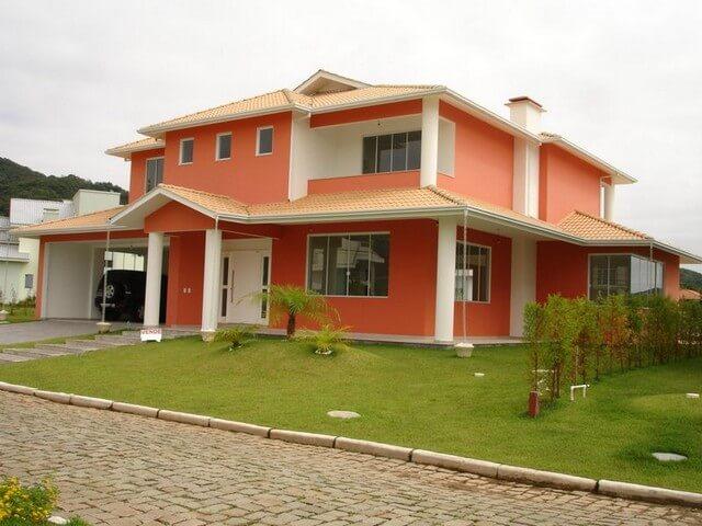 Casa bem pintada