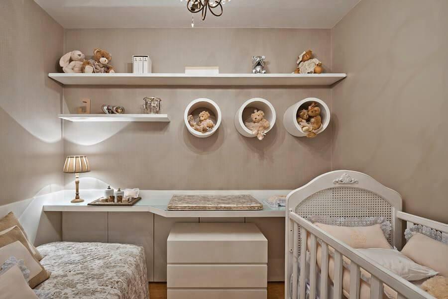 Quarto de bebê com ursinhos