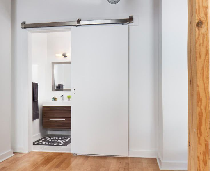 portas de correr para lavabo